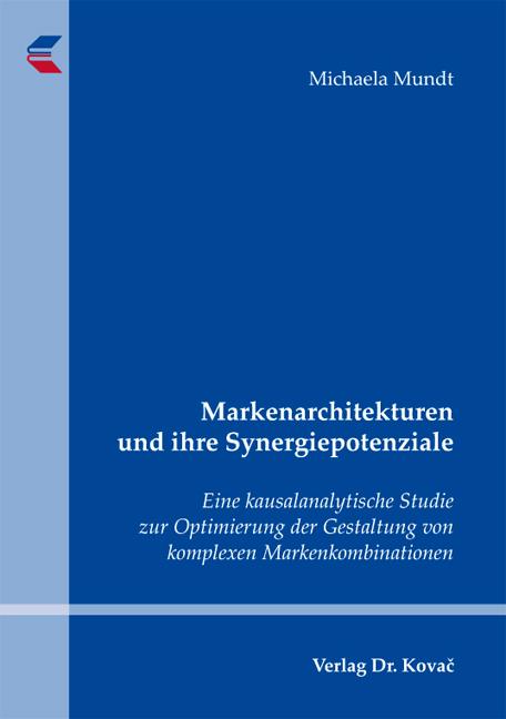Cover: Markenarchitekturen und ihre Synergiepotenziale