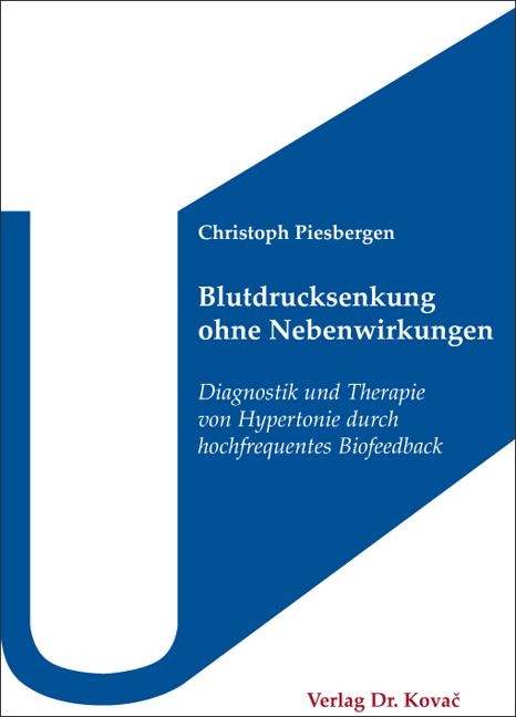Cover: Blutdrucksenkung ohne Nebenwirkungen