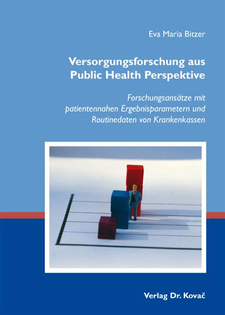 Cover: Versorgungsforschung aus Public Health Perspektive