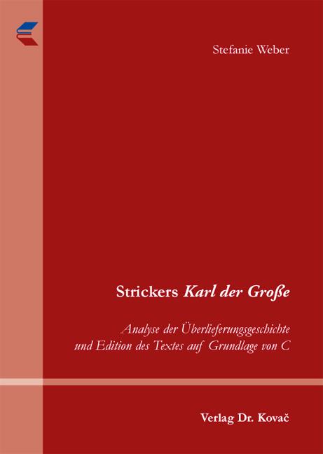 Cover: Strickers Karl der Große