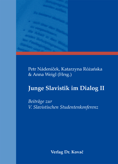 Cover: Junge Slavistik im Dialog II