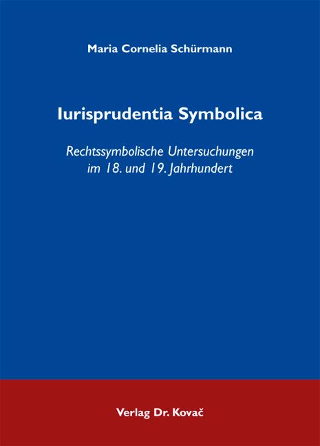Cover: Iurisprudentia Symbolica
