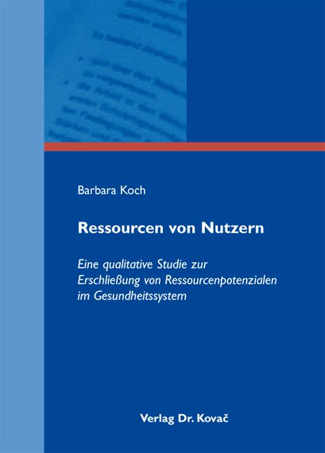 Cover: Ressourcen von Nutzern
