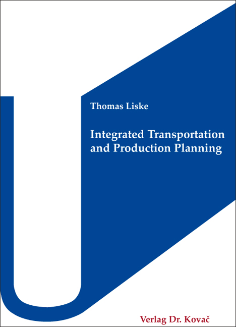 Cover: Integrated Transportation and Production Planning