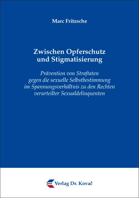 Cover: Zwischen Opferschutz und Stigmatisierung