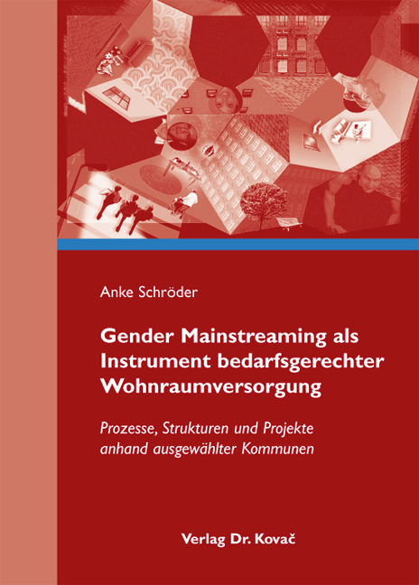 Cover: Gender Mainstreaming als Instrument bedarfsgerechter Wohnraumversorgung