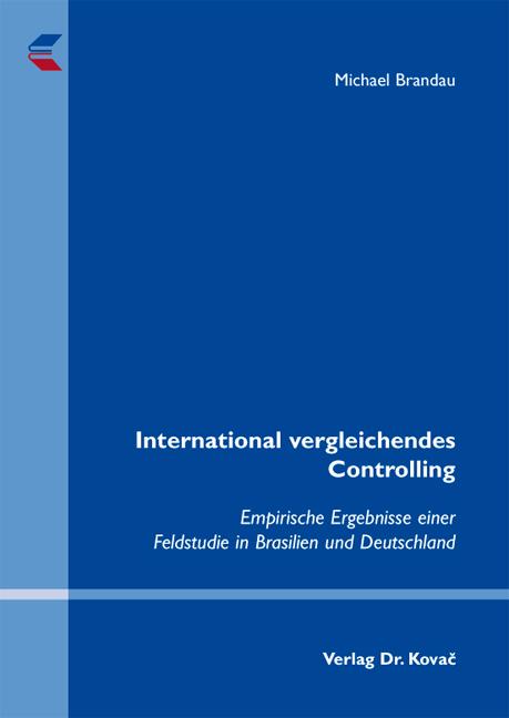 Cover: International vergleichendes Controlling