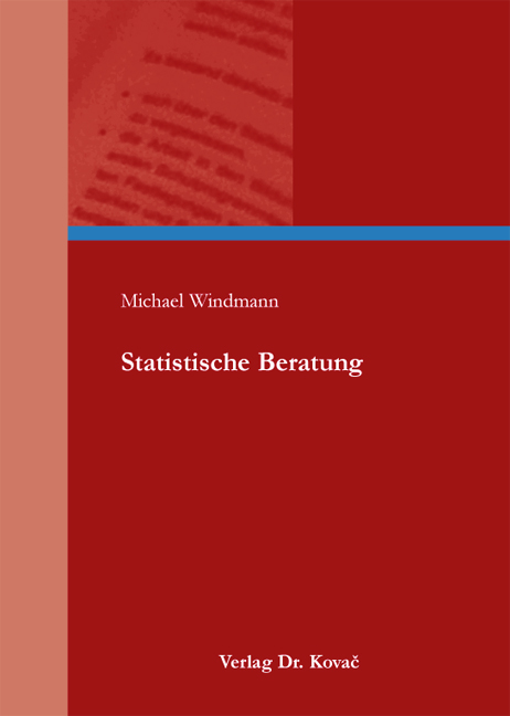 Cover: Statistische Beratung