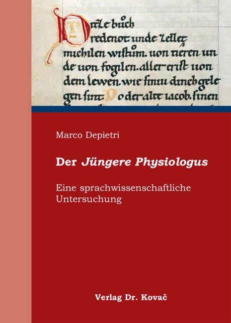 Cover: Der Jüngere Physiologus