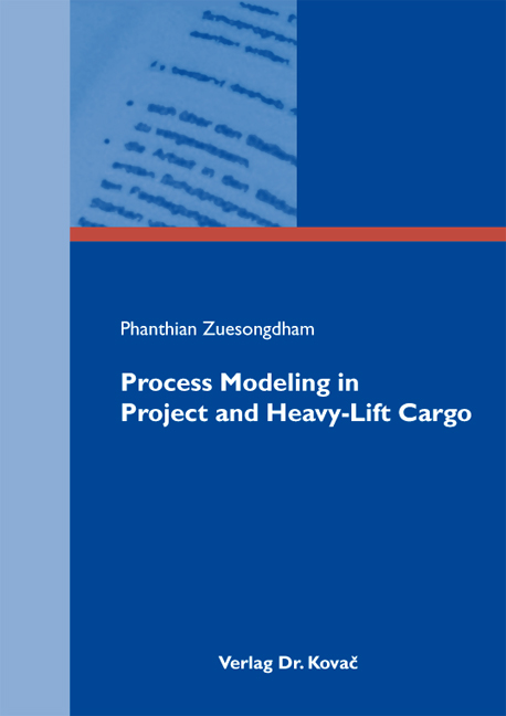 Cover: Process Modeling in Project and Heavy-Lift Cargo