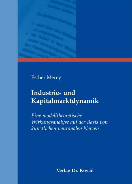 Cover: Industrie- und Kapitalmarktdynamik