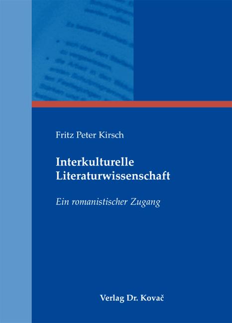 Cover: Interkulturelle Literaturwissenschaft