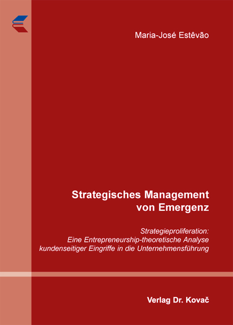 Cover: Strategisches Management von Emergenz