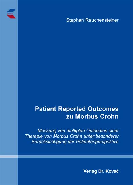 Cover: Patient Reported Outcomes zu Morbus Crohn