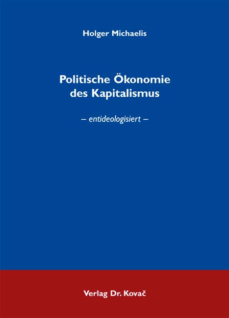Cover: Politische Ökonomie des Kapitalismus