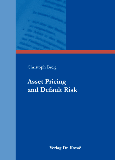 Cover: Asset Pricing and Default Risk