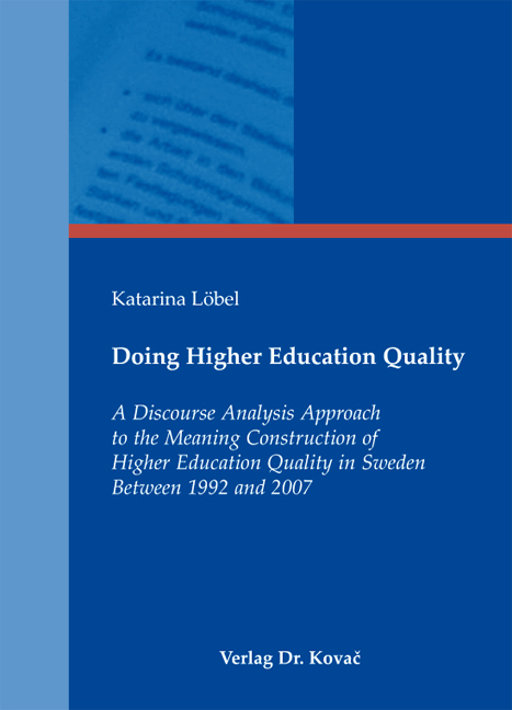 Cover: Doing Higher Education Quality