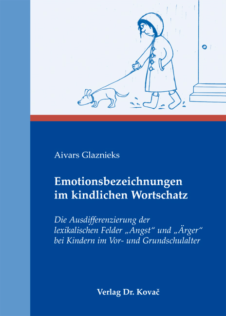 Cover: Emotionsbezeichnungen im kindlichen Wortschatz