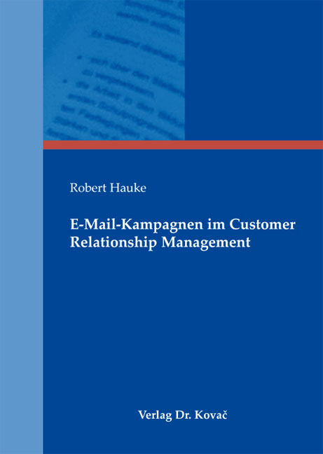 Cover: E-Mail-Kampagnen im Customer Relationship Management