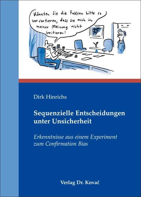 Cover: Sequenzielle Entscheidungen unter Unsicherheit