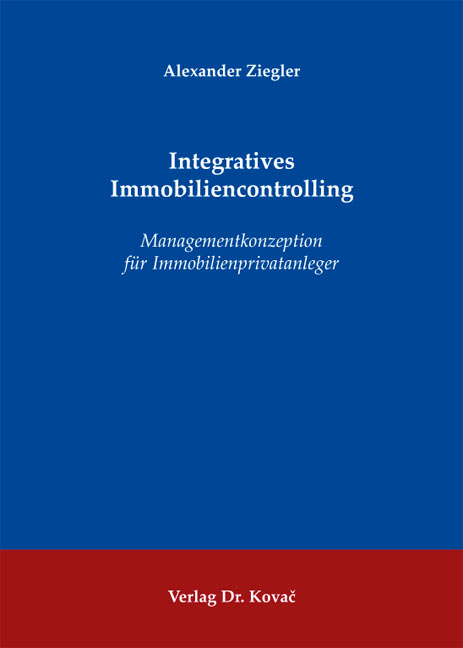 Cover: Integratives Immobiliencontrolling