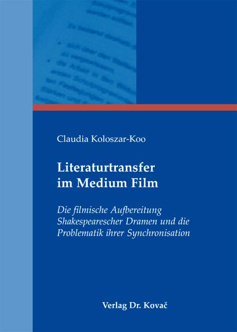 Cover: Literaturtransfer im Medium Film