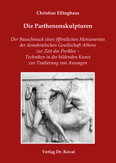 Cover: Die Parthenonskulpturen