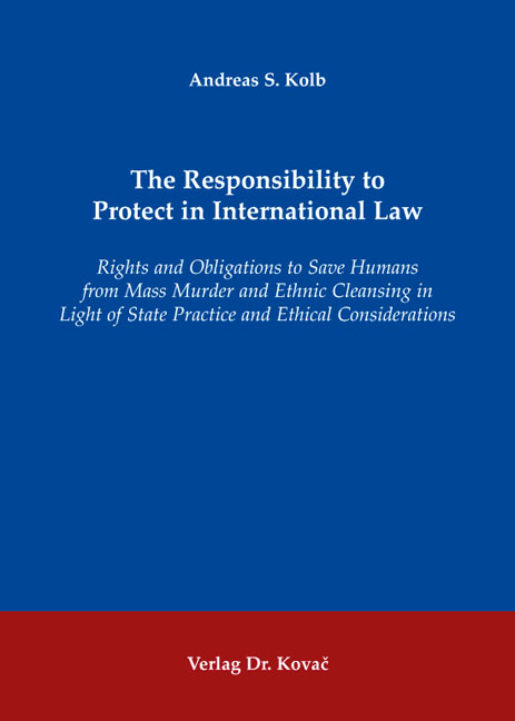 Cover: The Responsibility to Protect in International Law