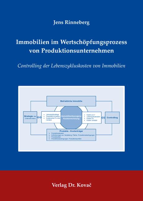 Cover: Immobilien im Wertschöpfungsprozess von Produktionsunternehmen