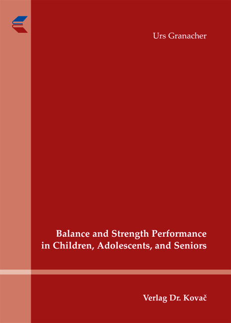 Cover: Balance and Strength Performance in Children, Adolescents, and Seniors
