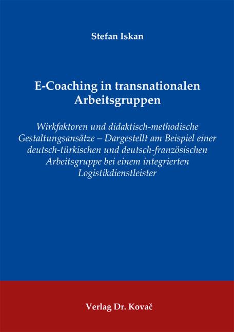 Cover: E-Coaching in transnationalen Arbeitsgruppen