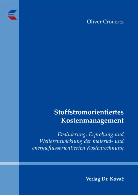 Cover: Stoffstromorientiertes Kostenmanagement