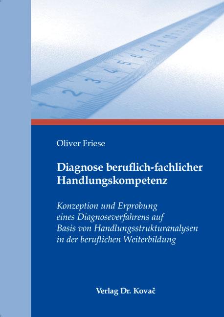 Cover: Diagnose beruflich-fachlicher Handlungskompetenz