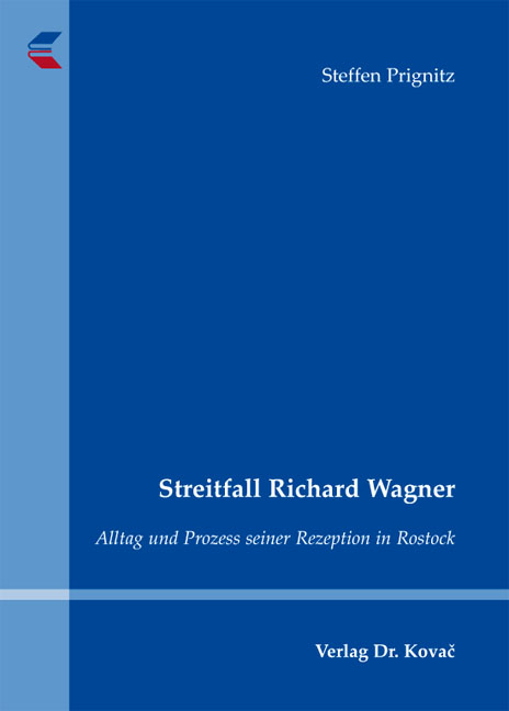 Cover: Streitfall Richard Wagner