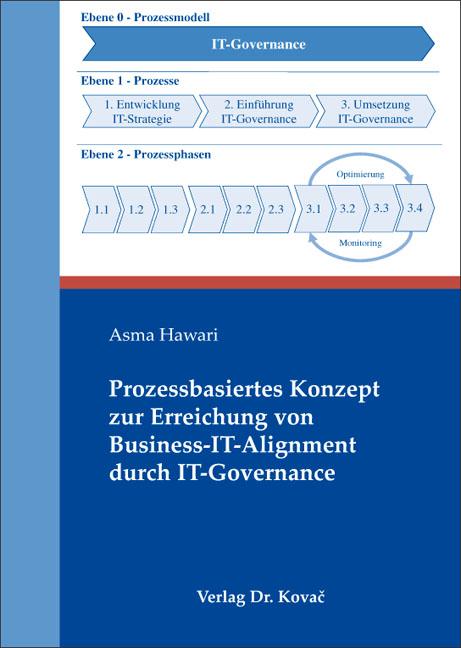 Cover: Prozessbasiertes Konzept zur Erreichung von Business-IT-Alignment durch IT-Governance