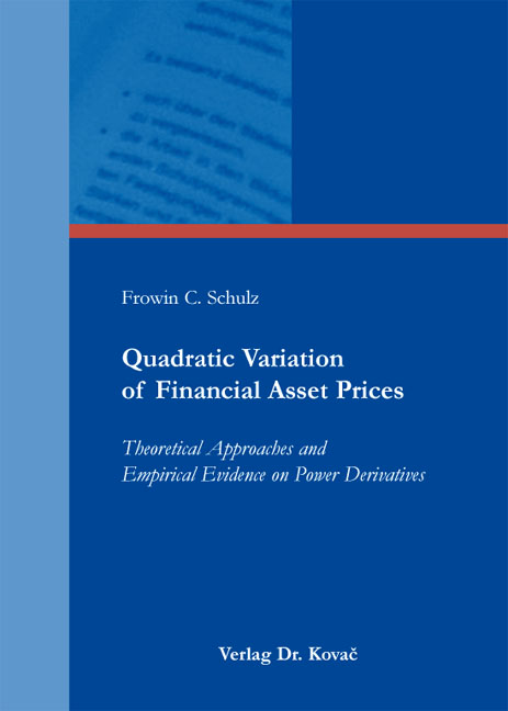 Cover: Quadratic Variation of Financial Asset Prices