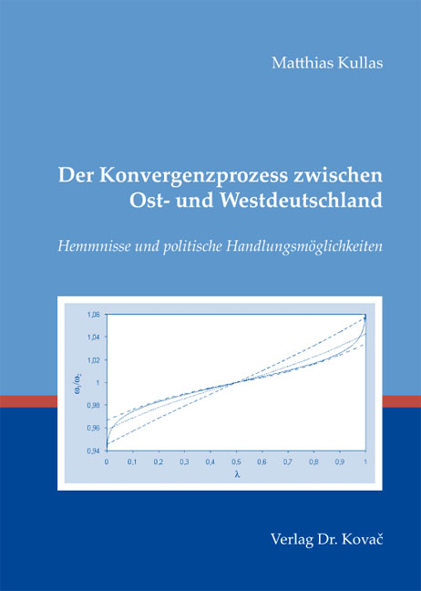 Cover: Der Konvergenzprozess zwischen Ost- und Westdeutschland