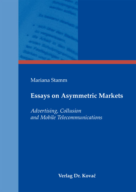 Cover: Essays on Asymmetric Markets