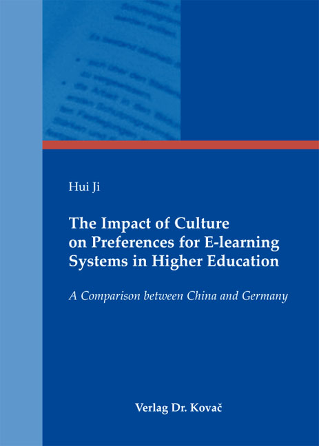 Cover: The Impact of Culture on Preferences for E-learning Systems in Higher Education