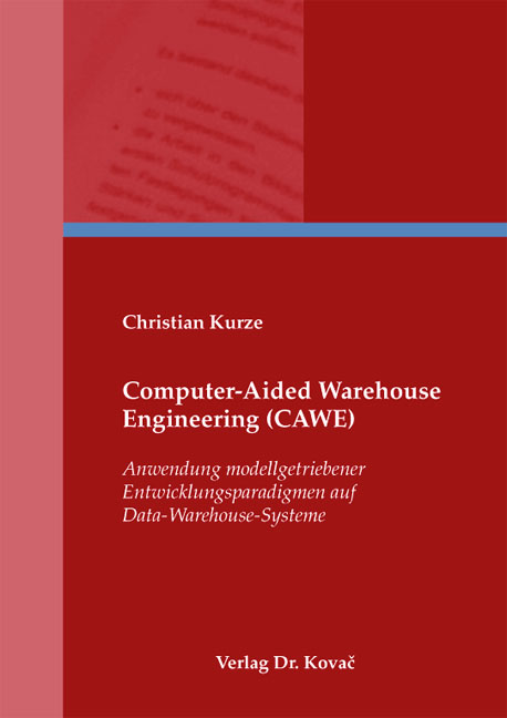 Cover: Computer-Aided Warehouse Engineering (CAWE)