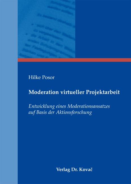 Cover: Moderation virtueller Projektarbeit