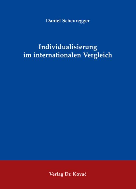 Cover: Individualisierung im internationalen Vergleich