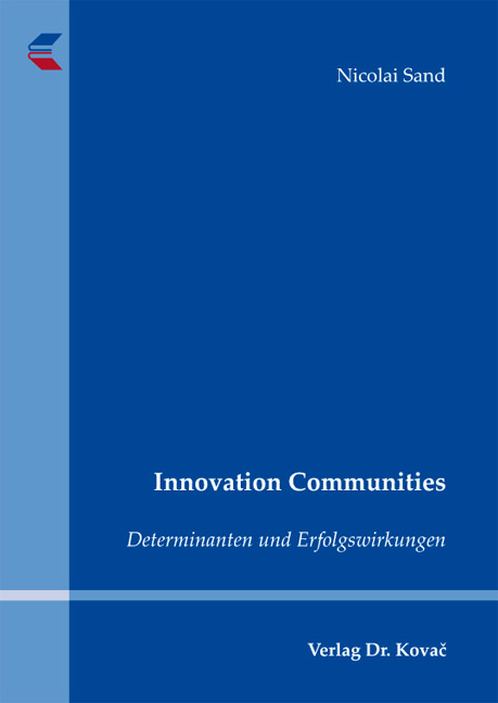 Cover: Innovation Communities