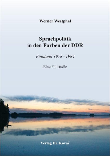Cover: Sprachpolitik in den Farben der DDR