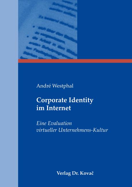 Cover: Corporate Identity im Internet
