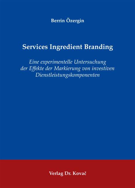 Cover: Services Ingredient Branding