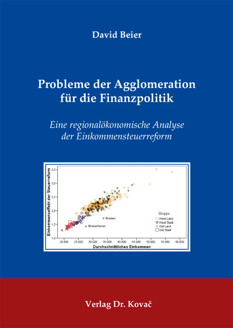 Cover: Probleme der Agglomeration für die Finanzpolitik