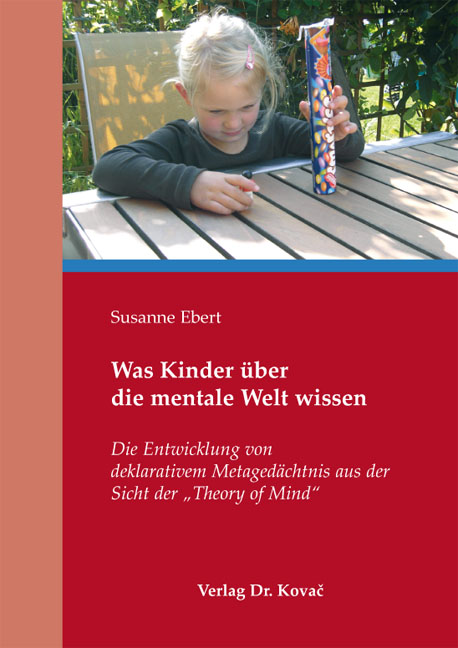 Cover: Was Kinder über die mentale Welt wissen