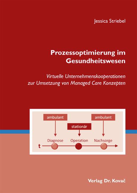 Cover: Prozessoptimierung im Gesundheitswesen
