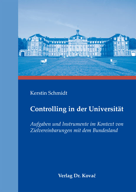 Cover: Controlling in der Universität